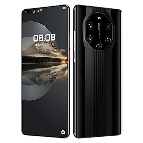 "Lenove Mate40 RS Moviles, 12GB RAM, 512GB de Memoria Interna, 7.2\"" HD + Water-Drop Screen, 48MP Five Cámara, Batería 5800mAh, Dual SIM Smartphone, 5G Android 10 Teléfono móvil Libre, Face ID/GPS"
