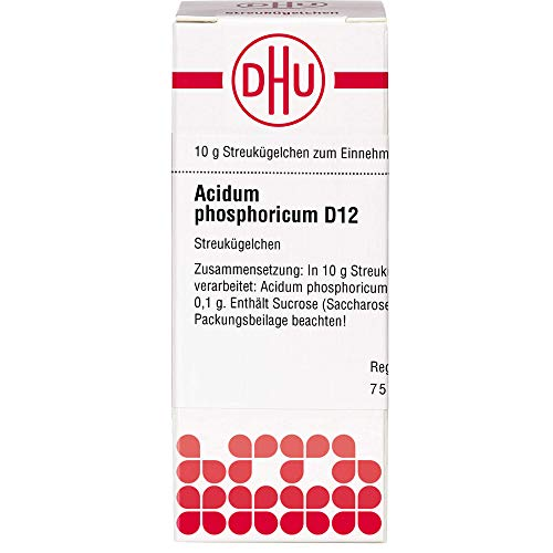 DHU Acidum phosphoricum D12 Streukügelchen, 10 g Globuli