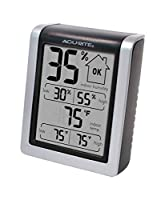 Indoor relative humidity Indoor temperature, including daily high and low information Simple easy-to-read display Clip and magnet mountable American Based Company in Lake Geneva, WI, USA