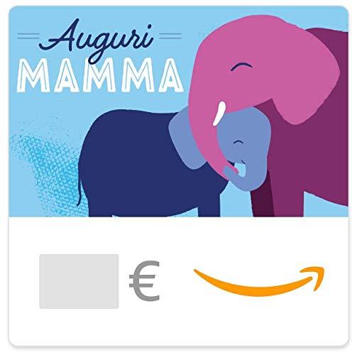 Buono Regalo Amazon.it - Digitale - Auguri Mamma - Elefante