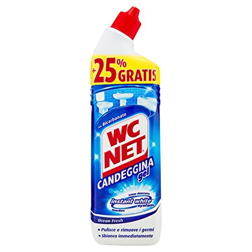 Wc Net Candeggina Gel Extra White - 875 ml