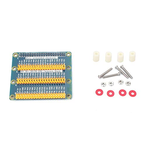HUANRUOBAIHUO Adapter Plate 1 to 3 GPIO 40 Pin Extension Board for Raspberry Pi 3/2 for Orange Pi PC 3D Printer Parts