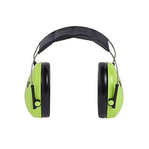 3M Peltor Kid - Casque antibruit idéal pour enfants sensibles aux bruits forts - Atténuation 27 dB - 1 x casque de protection auditive vert - Taille - S