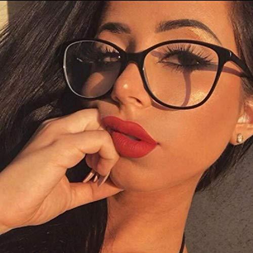 2019 neue Mode Katzenaugenbrille Rahmen Frauen Sexy Kunststoff Eyewear Fabrik Großhandel Männer Custom Logo Brille