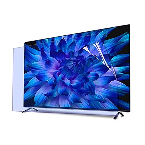 GFSD 27-75 Pulgadas Película Antideslumbrante para Pantalla de TV 27-75 Pulgadas, HD/Mate Protector Pantalla con Filtro CE Luz Azul LG, Personalizable