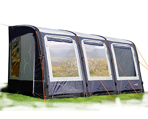 Camptech Starline 2020, aufblasbares Wohnwagen-Vorzelt, Grau, blau