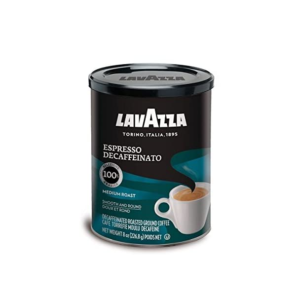 Lavazza Decaf Espresso Ground Coffee