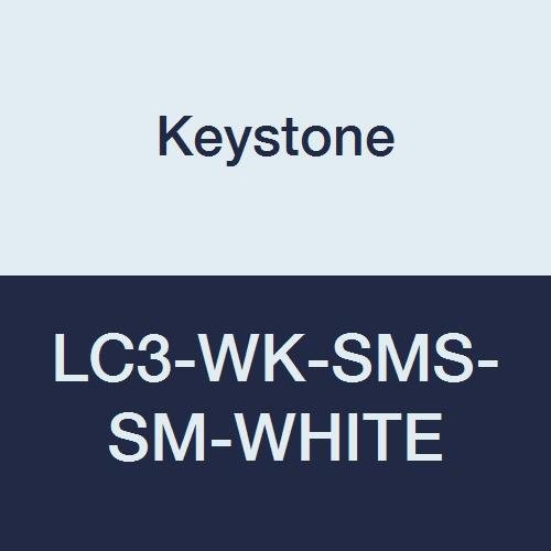 Keystone Regular store LC3-WK-SMS-SM-WHITE SMS Lab Max 72% OFF Coat Knit Wrist 3 Pockets