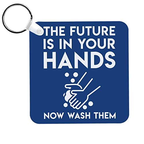 Cloud City 7 Pandemic Hygiene Funny Quote Keyring