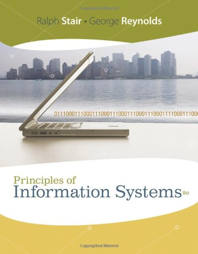 Principles of Information Systems (Available Titles...