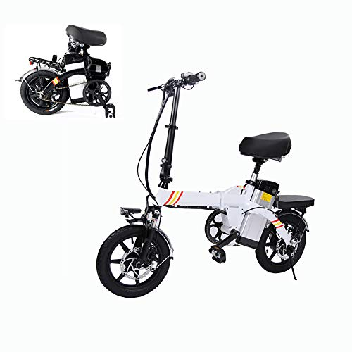 DR-Electric Bicicleta Plegable Cuadro Negro Bund Snow Bike 14