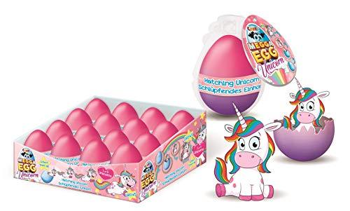 CRAZE Growing Egg Magisches Schlüpf-Ei Überraschungsei Hatching Animals Einhorn 20500, Verschiedene Inhalte