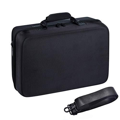 PW TOOLS Bolsa de Almacenamiento para la Consola PS5, Organizador de Bolsa de Almacenamiento para la Consola PS5, Bolsa de Viaje de Tela de Nylon a Prueba de Agua y a Prueba de Golpes para PS5