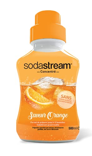 Sodastream Concentré Saveur Orange 500ml