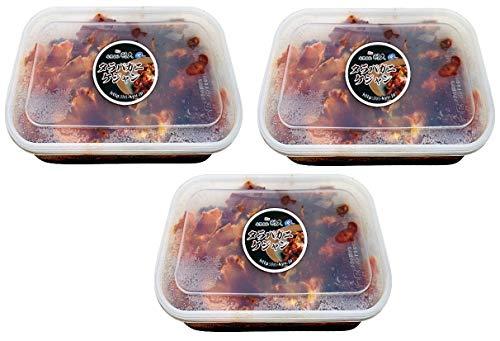 3個セット浜田屋の生タラバ蟹ケジャン1�s×3個 冷凍クール便【北海道産本タラバ使用】