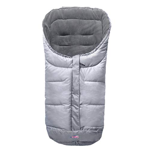 Anti-Kick Winter Water Proof Cozy Warmer Baby Footmuff Fits for Most of Strollers, Jogger, Reversible from Blanket to Sleeping Bag, Strap Position Adjustable,Safe and Practical Featurs