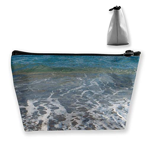 Ocean Horizon Sky Wave Wind Animal Material Starfis Womens Travel Cosmetic Bag Portable Toiletry Brush Storage Durable Pen Pencil Bags Accessories Sewing Kit Pouch Makeup Carry Case
