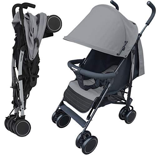 Carrinho de Bebê Umbrella Park Voyage - Cinza