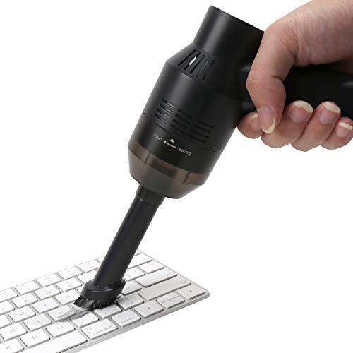 Honlibey Upgraded Mini Keyboard Vacuum, Tiny Cordless Computer Vacuum Cleaner Electronics Laptop...