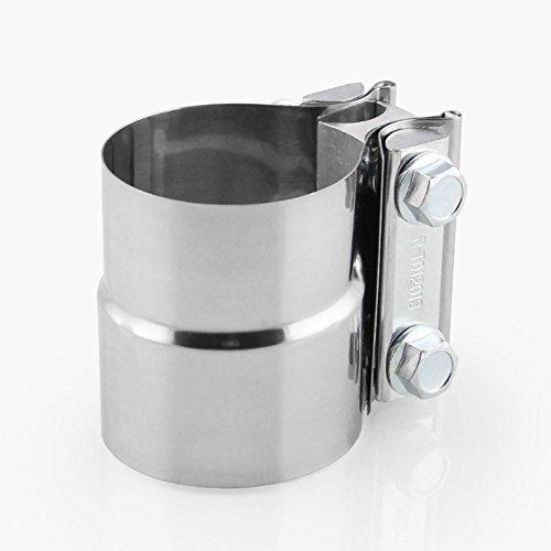 1xRohrverbindungsstück Auspuffrohr 57mmx63mm[2.25''x2.5 ''] Edelstahl-Auto-Schalldämpfer