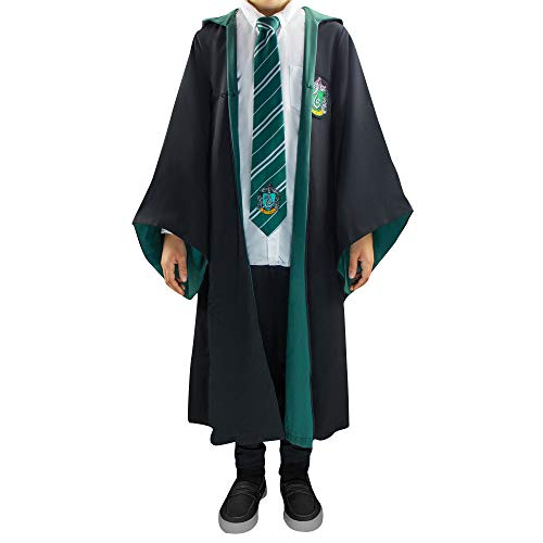 Cinereplicas Harry Potter - Capa - Oficial (Small Adultos, Slytherin)