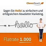 CleverReach Newsletter Software, Email Marketing Automation, Flatrate Tarif 1.000, Web Browser, Monatliches Abonnement -