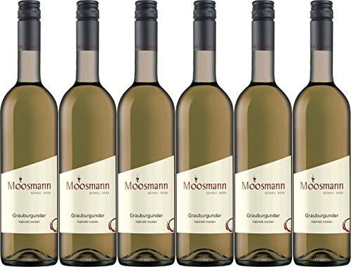 Moosmann Grauburgunder Kabinett 2019 Trocken (6 x 0.75 l)