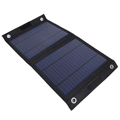 Redxiao 【𝐎𝐟𝐞𝐫𝐭𝐚𝐬 𝐝𝐞 𝐁𝐥𝐚𝐜𝐤 𝐅𝐫𝐢𝐝𝐚𝒚】 Cargador de Panel Solar, Panel Solar de polisilicio, Estructura compacta Material de TPU Senderismo Escalada de montaña para Viajes en Bicicleta