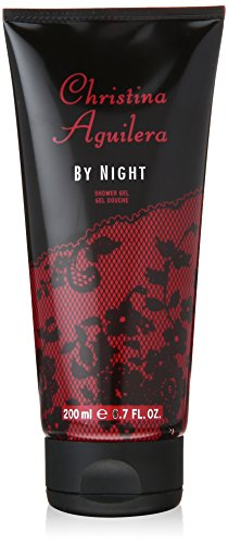Christina Aguilera By Night Women Shower Gel Boxed 200ml, 1er Pack (1 x 200 ml)