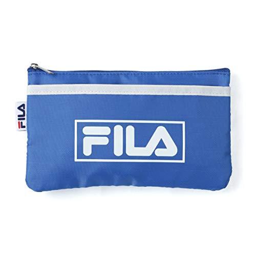 [フィラ] マスクケース 携帯用 抗菌 マスク 持ち運び 軽量 マスクポーチ マスク入れ おしゃれ コンパクト 収納 ケース ブルー Free