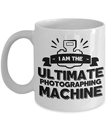 Fotograf Kaffeetasse - Ich bin die ultimative Fotomaschine - Foto Erotik aus der Luft Mode Freiberuflicher Journalist Landschaft Natur Nachrichten Sport Hochzeit Wildtiere Premium Keramikbecher
