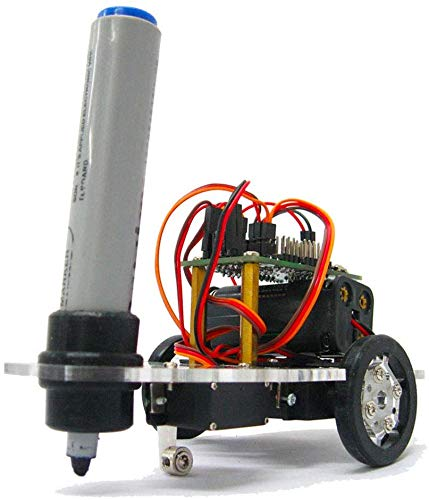 Mnjin DIY programmierbarer Roboter Zeichnungsroboter DIY Toy Kit, intelligenter programmierbarer Schreibroboter, Arduino Programmalbe Toy Kit, für Arduino Stater, Erziehungswissenschaftliche