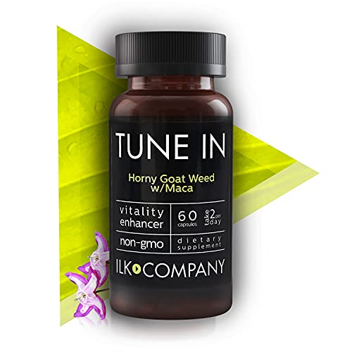Female Libido Enhancement - Horny Goat Weed & Maca Root Capsules - Natural Libido Booster Supports Stamina, Performance and Energy - 60 Capsules