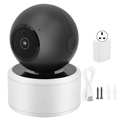 fuwinkr Videocamera di Sicurezza per Esterni, videocamera WiFi 1080P AI Videocamera di sorveglianza Domestica Intelligente per rilevamento Umano, videocamera interfono bidirezionale a infrarossi(UK)