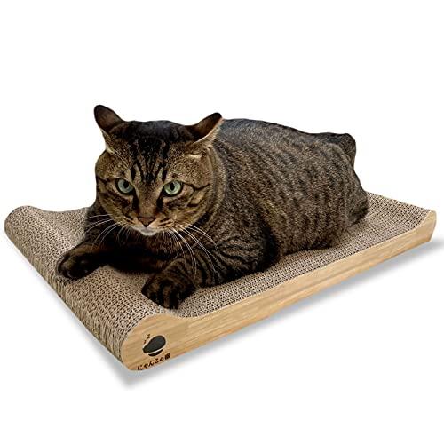【 でぶ猫 ぽっちゃり猫専用】 猫 つめとぎ 大きいサイズ にゃんこの宿 にゃんと極楽 ベッド ねこ