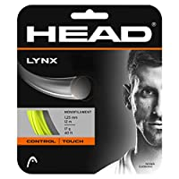 ヘッド(HEAD) 硬式テニス ガット リンクス セット 12m 281784 イエロー