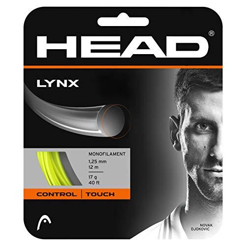 Head Lynx (Set) Cordaje de Tenis, Unisex Adulto, Amarillo,...