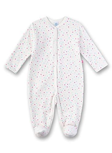 Sanetta Baby-Mädchen Overall Strampler, Beige (Broken White 1427), 50 (Herstellergröße: 050)