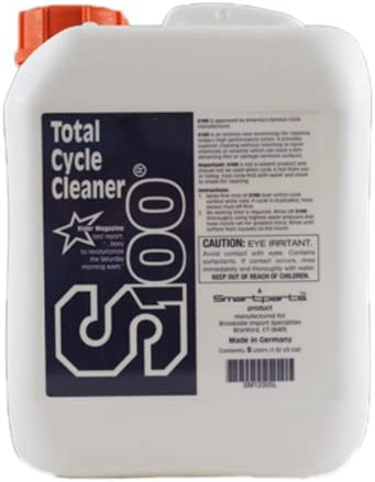 S100 12005L-04 Total Cycle Cleaner Bottle OFFicial 4-Pack Quantity limited - Gallon 1.32