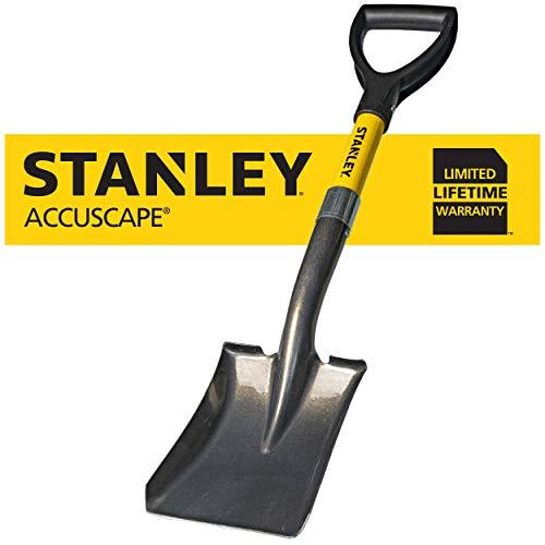 Stanley Garden BDS8088 Mini DHandle Square Head Shovel Yellow
