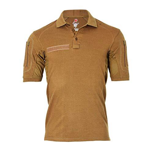 Copytec Tactical Poloshirt ALFA Sand Tropen Hemd Taktisch ISAF RS Auslandseinsatz #18792, Größe:3XL, Farbe:Sand
