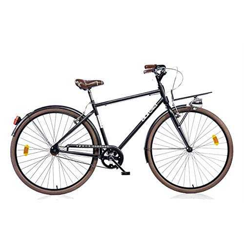 aurelia Uomo, Bicicletta 28' 1028SU Senza Cambio Sport Bike Nero, 3