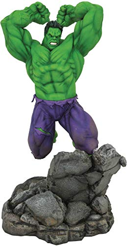 DIAMOND SELECT TOYS Marvel Premier Collection: The Hulk Statue, Multicolor, 17 inches image