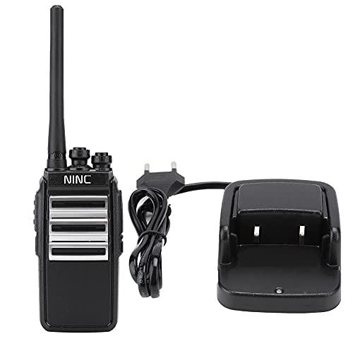 JICWNEW N.INC YK-55 Mini Walkie Talkie portátil recargable 3800mAh redondo