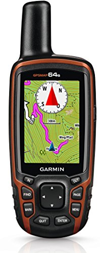 Garmin GPSMAP 64s Navigationshandgerät – barometrischer Höhenmesser, GPS und GLONASS Kompatibilität, Live Tracking, Smart Notification, 2,6 Zoll (6,6cm) Farbdisplay - 8