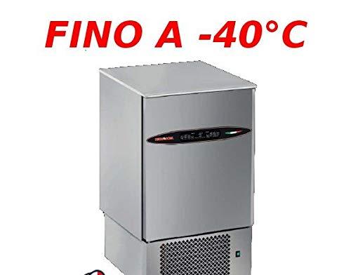 Abbattitore di temperatura in Acciaio Inox con controllo digitale con sensori Touch, per 7 teglie GN1/1 o 600x400 mm, predi