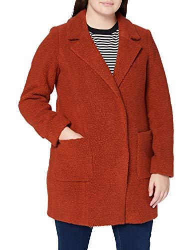 Bugatti Damen 661800-64024-670 Wollmischungs-Mantel, orange, 42