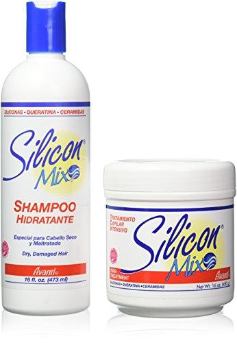Silicon mix hair treatment and shampoo 16 ounce