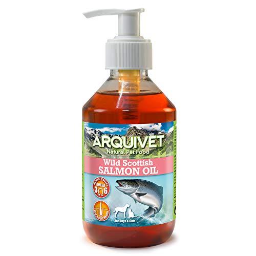 Arquivet Aceite de salmón escocés - para Perros y Gatos - 250 ml
