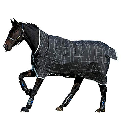 Horseware Rhino Pony Wug Turnout 0g Lite - Black/Grey/White